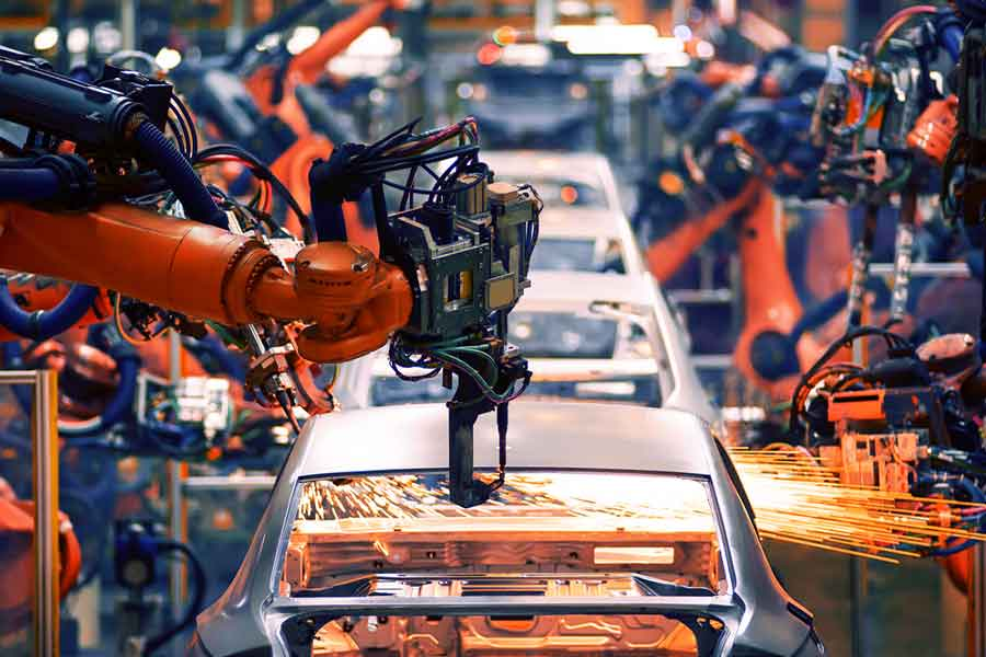 benefits of robotic process automation in the manufacturing industry