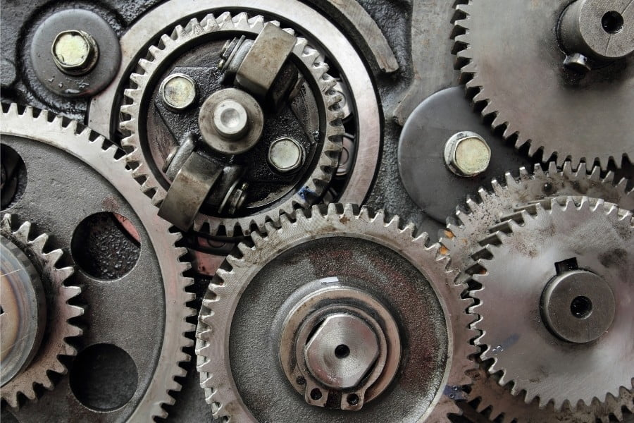 what are the different types of gears